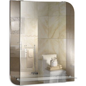 Зеркало Mixline Юнона 550х685 с полкой (4620001981182)
