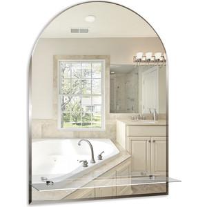 Зеркало Mixline Аркада-Люкс 49х67 с полкой и фацетом (4620001980161) зеркало д ванной модерн люкс 60х80 см с полкой фацетом 10мм