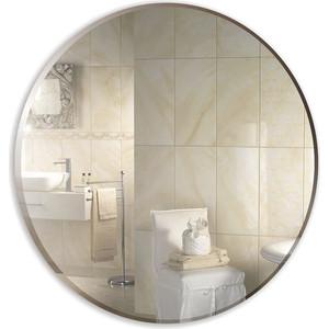 Зеркало Mixline Ринг D520 с фацетом (4620001980871) зеркало mixline сириус люкс 490х670 с полкой и фацетом 4620001980925