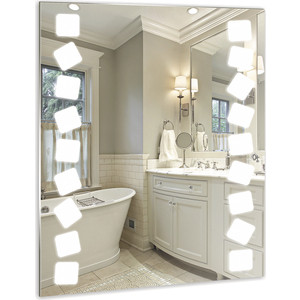 Зеркало Mixline Карат 600х800 светодиодная подсветка (4620001982363)