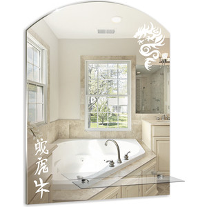 Зеркало Mixline Дракон 495х670 с полкой (4620001980437)