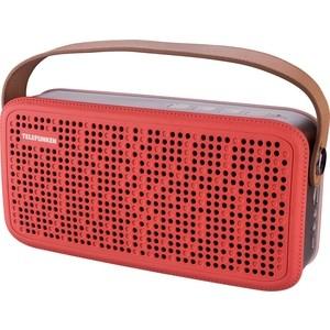 лучшая цена Портативная колонка TELEFUNKEN TF-PS1230B красный/коричневый