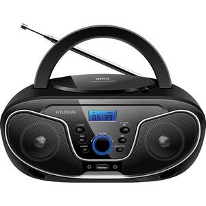 Магнитола Hyundai H-PCD140 черный/серый цена и фото