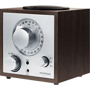 Радиоприемник Hyundai H-SRS100 радиоприемник hyundai h srs100 венге