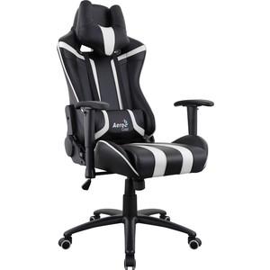Кресло для геймера Aerocool AC120 AIR-BW черно-белое с перфорацией ac120 rgb b