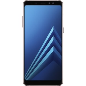Смартфон Samsung Galaxy A8 (2018) SM-A530F 32Gb Blue смартфон samsung galaxy s8 sm g950f 64gb жёлтый топаз