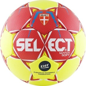 Мяч гандбольный Select Match Soft (844908-335) Lille р.1
