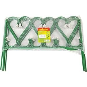 Забор декоративный металлический Grinda Ренессанс 50х345см (422263)