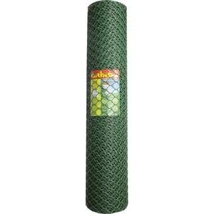 Решетка садовая Grinda цвет хаки (1.63x15 м ячейка 18x18 мм)