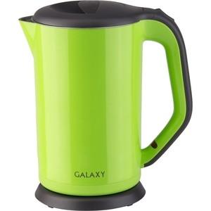 лучшая цена Чайник электрический GALAXY GL 0318 зеленый