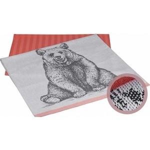 Набор кухонных полотенец Hobby home collection Bear персиковый 50x70 2 штуки (1501001630)