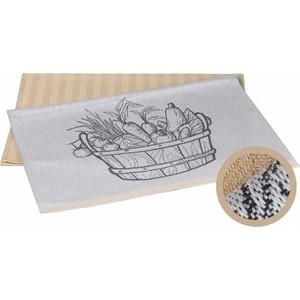 Набор кухонных полотенец Hobby home collection Vegetables бежевый 50x70 2 штуки (1501001631)