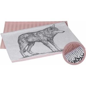 Набор кухонных полотенец Hobby home collection Wolf лиловый 50x70 2 штуки (1501001627)