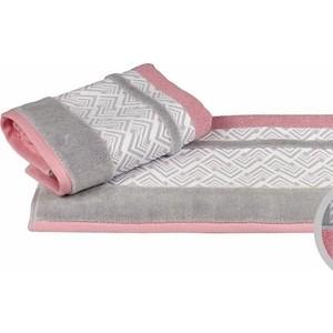 цена Полотенце махровое Hobby home collection Nazende розовый 50x90 (1501001727) онлайн в 2017 году