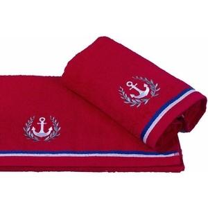 Полотенце махровое Hobby home collection Maritim красный 50x90 (1501001457)