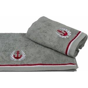 Полотенце махровое Hobby home collection Maritim серый 50x90 (1501001454) полотенце hobby home collection feraye 50x90 см темно серый 1501000765