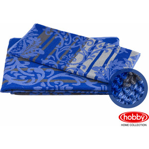 Полотенце махровое Hobby home collection Avangard синий 70x140 (1501001622) цены