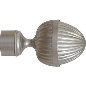 Наконечники 2 штуки DDA 28 мм Жёлудь Сатин (28.01.46.500 )
