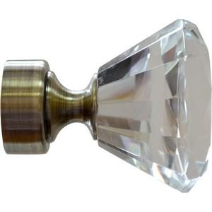 Наконечники 2 штуки DDA 28 мм Модерн Золото антик (28.01.51.101 ) наконечники 2 штуки dda 28 мм люксор белое золото 28 01 30 105