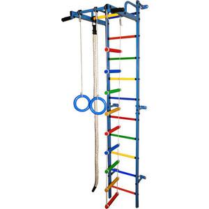 Детский спортивный комплекс Формула здоровья Карапуз-5А Плюс синий/радуга цена