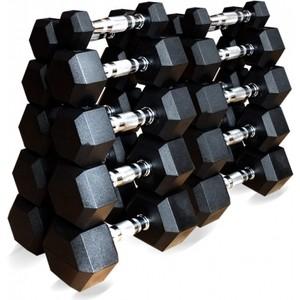 Набор гантелей Original Fit.Tools гексагональных 10 пар от 1 до 10 кг free shipping original 10 1 inch lcd screen original cable number 73002001242c model ahly101ml286 27a