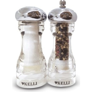 Набор мельница для перца и солонка Kelli (KL-11105)