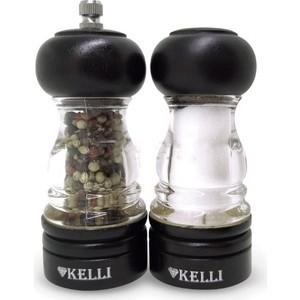 Набор мельница для перца и солонка Kelli (KL-11119)