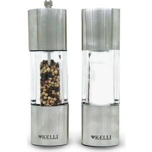 Набор мельница для перца и солонка Kelli (KL-11123) цена