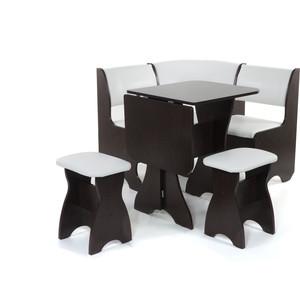Набор мебели для кухни Бител Тюльпан мини - однотонный (венге, Борнео милк, венге)