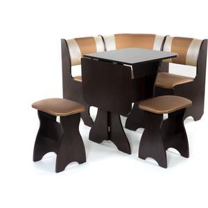 Набор мебели для кухни Бител Тюльпан мини - комби (венге, с-109 + с-101, венге) цена и фото