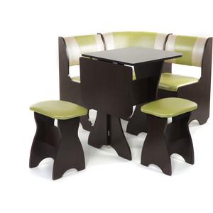 Набор мебели для кухни Бител Тюльпан мини - комби (венге, с-105 + с-101, венге) цена и фото