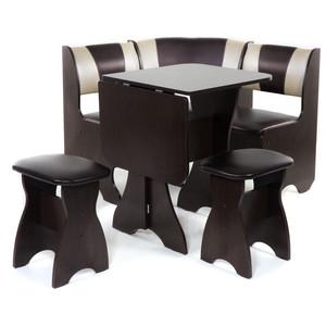 Набор мебели для кухни Бител Тюльпан мини - комби (венге, с-221 + с-101, венге) цена и фото