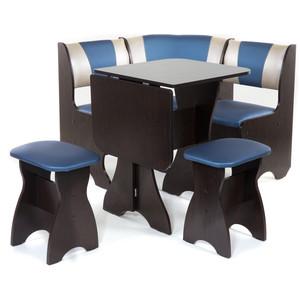 Набор мебели для кухни Бител Тюльпан мини - комби (венге, терра эффект-114 + с-101, венге) цена и фото