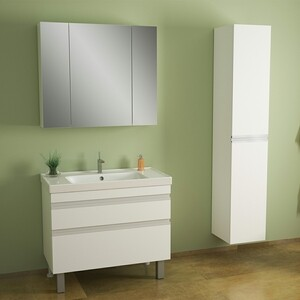 Пенал Dreja Grace 35 петли справа, белый лак (99.0907) пенал асб мебель римини 30 woodline бук тироль петли справа