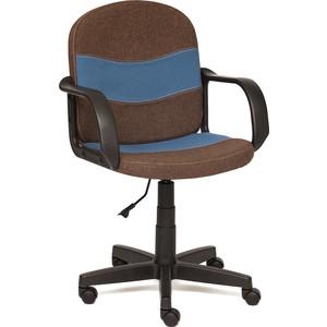 Кресло TetChair BAGGI ткань коричневый/синий ЗМ7-147/С24