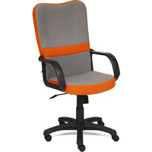 Кресло TetChair СН757 ткань серый/оранжевый С27/С23 кресло tetchair ostin ткань серый бирюзовый мираж грей 23