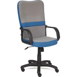 Кресло TetChair СН757 ткань серый/синий С27/С24 кресло tetchair baggi ткань серый синий с27 с24