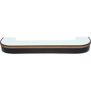 Карниз потолочный пластиковый DDA Поворот Греция двухрядный венге 3.6 карниз потолочный пластиковый dda поворот симфония двухрядный венге 3 0
