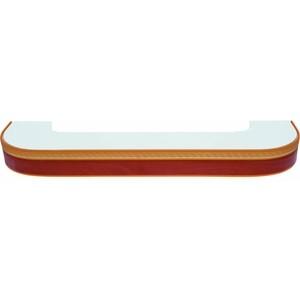 Карниз потолочный пластиковый DDA Поворот Греция двухрядный груша 3.4