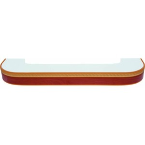 Карниз потолочный пластиковый DDA Поворот Греция трехрядный груша 3.8