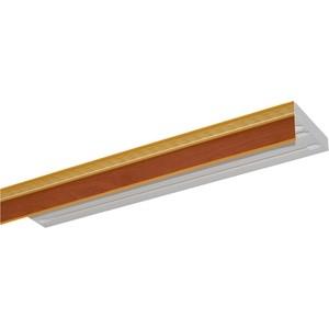 цена на Карниз потолочный пластиковый DDA Прямой Греция трехрядный груша 2.6