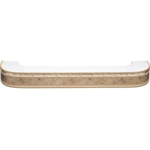 Карниз потолочный пластиковый DDA Поворот Гранд двухрядный бронза 3.6 карниз потолочный пластиковый dda поворот гранд двухрядный бронза 2 0