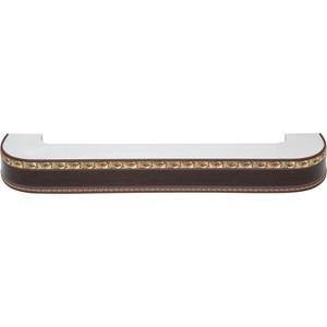 Карниз потолочный пластиковый DDA Поворот Гранд трехрядный венге 1.6 карниз потолочный пластиковый dda прямой гранд трехрядный серебро 4 0