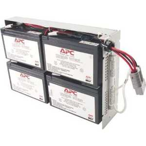 ИБП APC Battery replacement kit for SUA1500RMI2U, SU1400RM2U, SU1400RMI2U, SU1400R2IBX120 (RBC24)