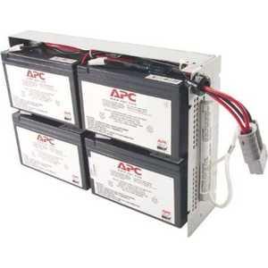 ИБП APC Battery replacement kit for SUA1500RMI2U, SU1400RM2U, SU1400RMI2U, SU1400R2IBX120 (RBC24) батарея delta hrl 12 9 12 34w 12v 9ah battary replacement apc rbc17 rbc24 rbc110 rbc115 rbc116 rbc124 rbc133