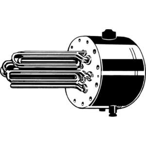 Электрический накопительный водонагреватель Stiebel Eltron FCR 28/120 (Фланец с электронагревательными элементами для SB 302 S и 402 S)