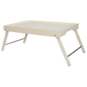 Столик-поднос Мебелик Селена слоновая кость фото