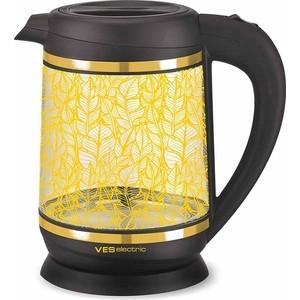 Чайник электрический Ves 2000-G электрический чайник ves ves1022 r красный