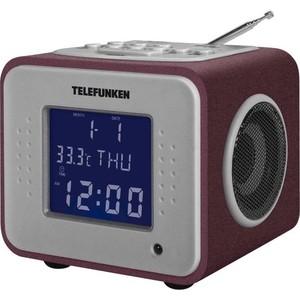 Радиоприемник TELEFUNKEN TF-1575 бордовый