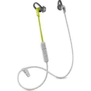 Наушники Plantronics BackBeat Fit 305 серый/лайм цена и фото